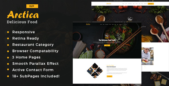Artica Preview Wordpress Theme - Rating, Reviews, Preview, Demo & Download