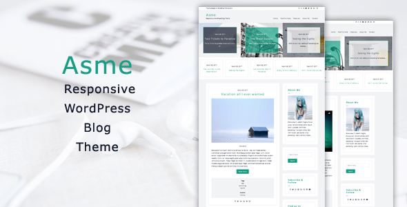 Asme Preview Wordpress Theme - Rating, Reviews, Preview, Demo & Download