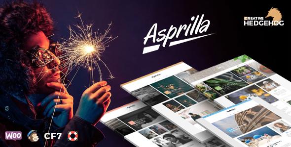Asprilla Preview Wordpress Theme - Rating, Reviews, Preview, Demo & Download