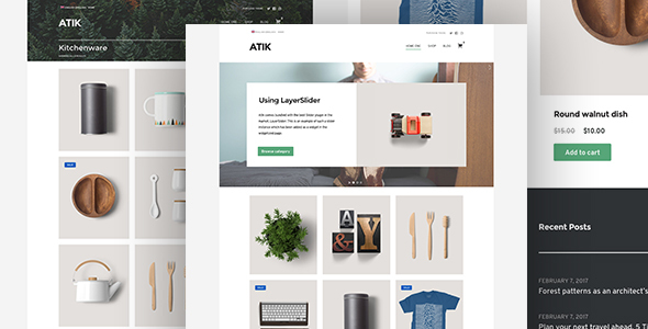 Atik Preview Wordpress Theme - Rating, Reviews, Preview, Demo & Download