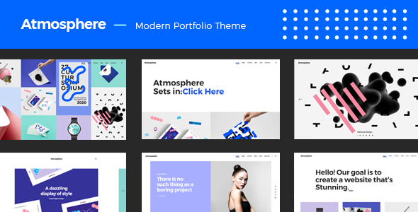 Atmosphere Preview Wordpress Theme - Rating, Reviews, Preview, Demo & Download