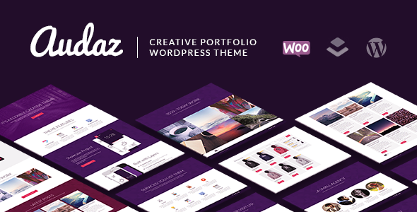 Audaz Creative Preview Wordpress Theme - Rating, Reviews, Preview, Demo & Download
