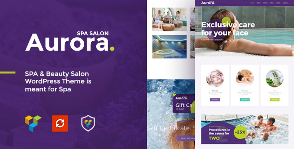 Aurora Spa Preview Wordpress Theme - Rating, Reviews, Preview, Demo & Download