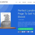Author Landing
