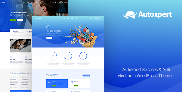 Autoxpert Preview Wordpress Theme - Rating, Reviews, Preview, Demo & Download