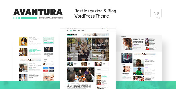 Avantura Preview Wordpress Theme - Rating, Reviews, Preview, Demo & Download