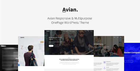 Avian Preview Wordpress Theme - Rating, Reviews, Preview, Demo & Download