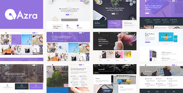 Azra Preview Wordpress Theme - Rating, Reviews, Preview, Demo & Download