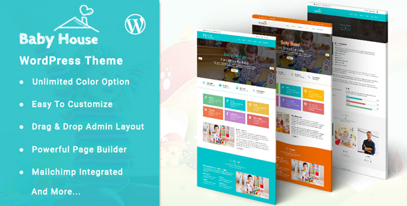 Baby House Preview Wordpress Theme - Rating, Reviews, Preview, Demo & Download