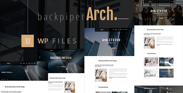 Backpiperarch Preview Wordpress Theme - Rating, Reviews, Preview, Demo & Download