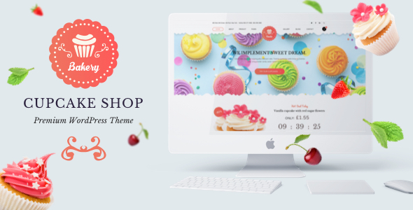 Bakery Premium Preview Wordpress Theme - Rating, Reviews, Preview, Demo & Download