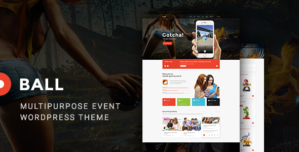 Ball Preview Wordpress Theme - Rating, Reviews, Preview, Demo & Download