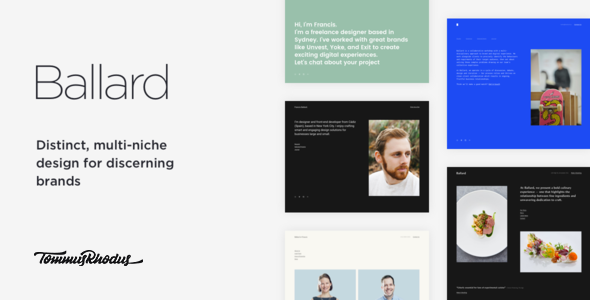 Ballard Preview Wordpress Theme - Rating, Reviews, Preview, Demo & Download