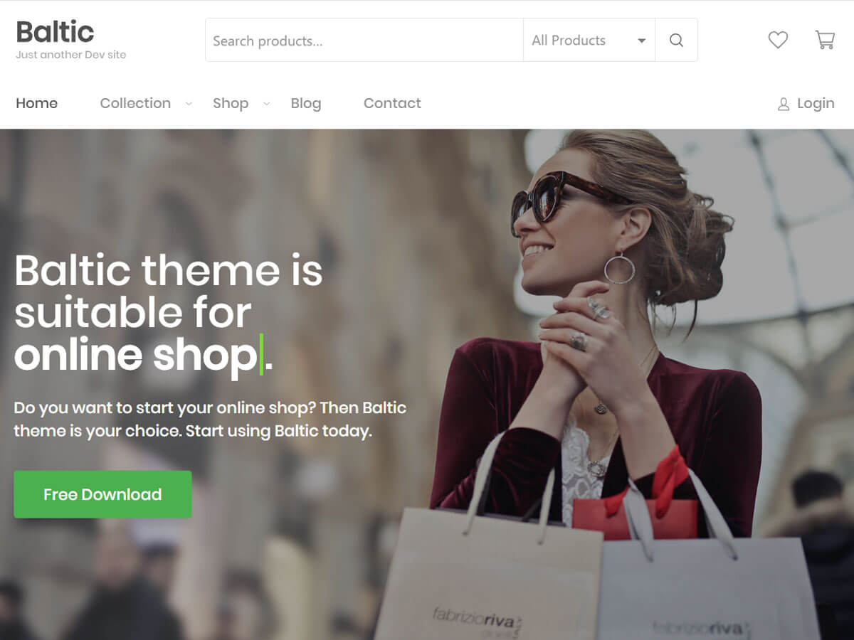 Baltic Preview Wordpress Theme - Rating, Reviews, Preview, Demo & Download