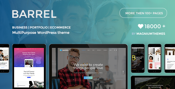 Barrel Preview Wordpress Theme - Rating, Reviews, Preview, Demo & Download