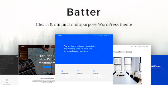 Batter Preview Wordpress Theme - Rating, Reviews, Preview, Demo & Download