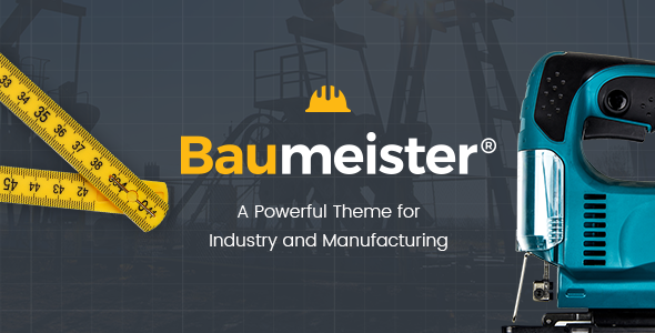 Baumeister Preview Wordpress Theme - Rating, Reviews, Preview, Demo & Download