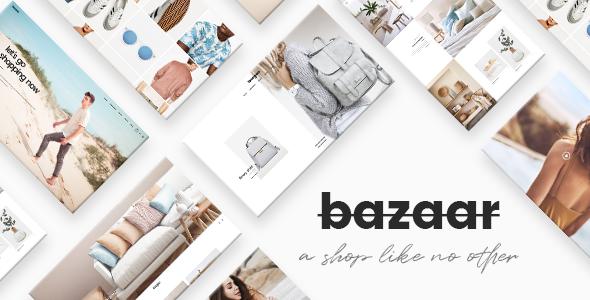Bazaar Preview Wordpress Theme - Rating, Reviews, Preview, Demo & Download