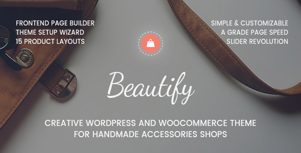 Beautify Preview Wordpress Theme - Rating, Reviews, Preview, Demo & Download