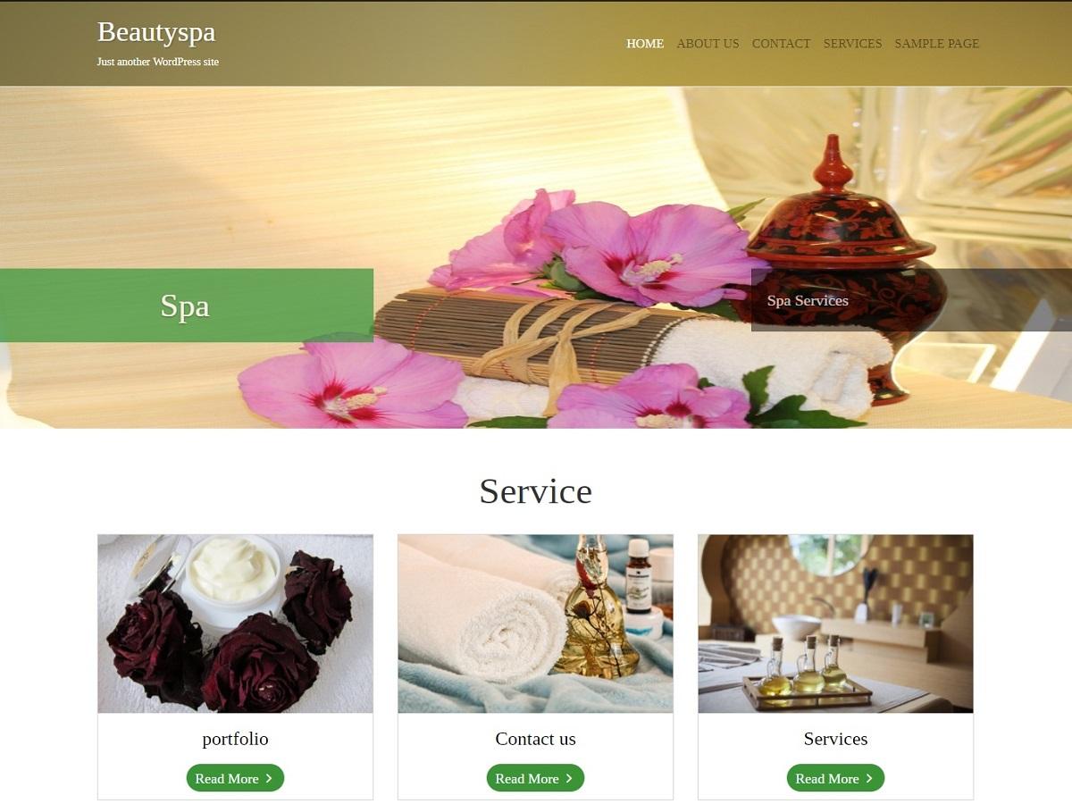 BeautySpa Preview Wordpress Theme - Rating, Reviews, Preview, Demo & Download