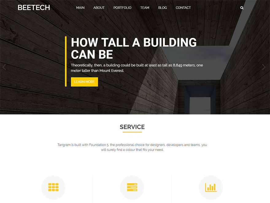 Beetech Preview Wordpress Theme - Rating, Reviews, Preview, Demo & Download