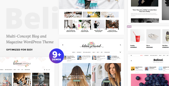 Belinni Preview Wordpress Theme - Rating, Reviews, Preview, Demo & Download