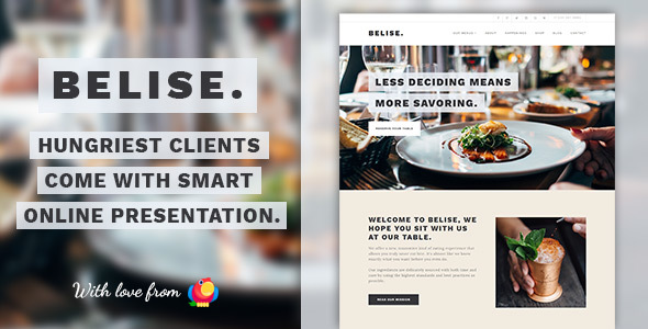 Belise Preview Wordpress Theme - Rating, Reviews, Preview, Demo & Download
