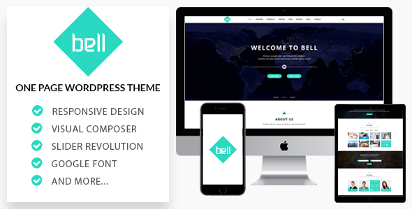 Bell Preview Wordpress Theme - Rating, Reviews, Preview, Demo & Download