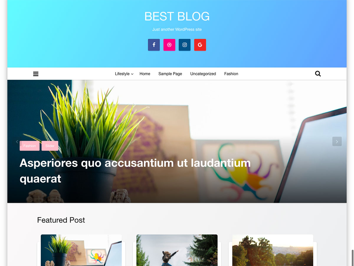 Best Blog Preview Wordpress Theme - Rating, Reviews, Preview, Demo & Download