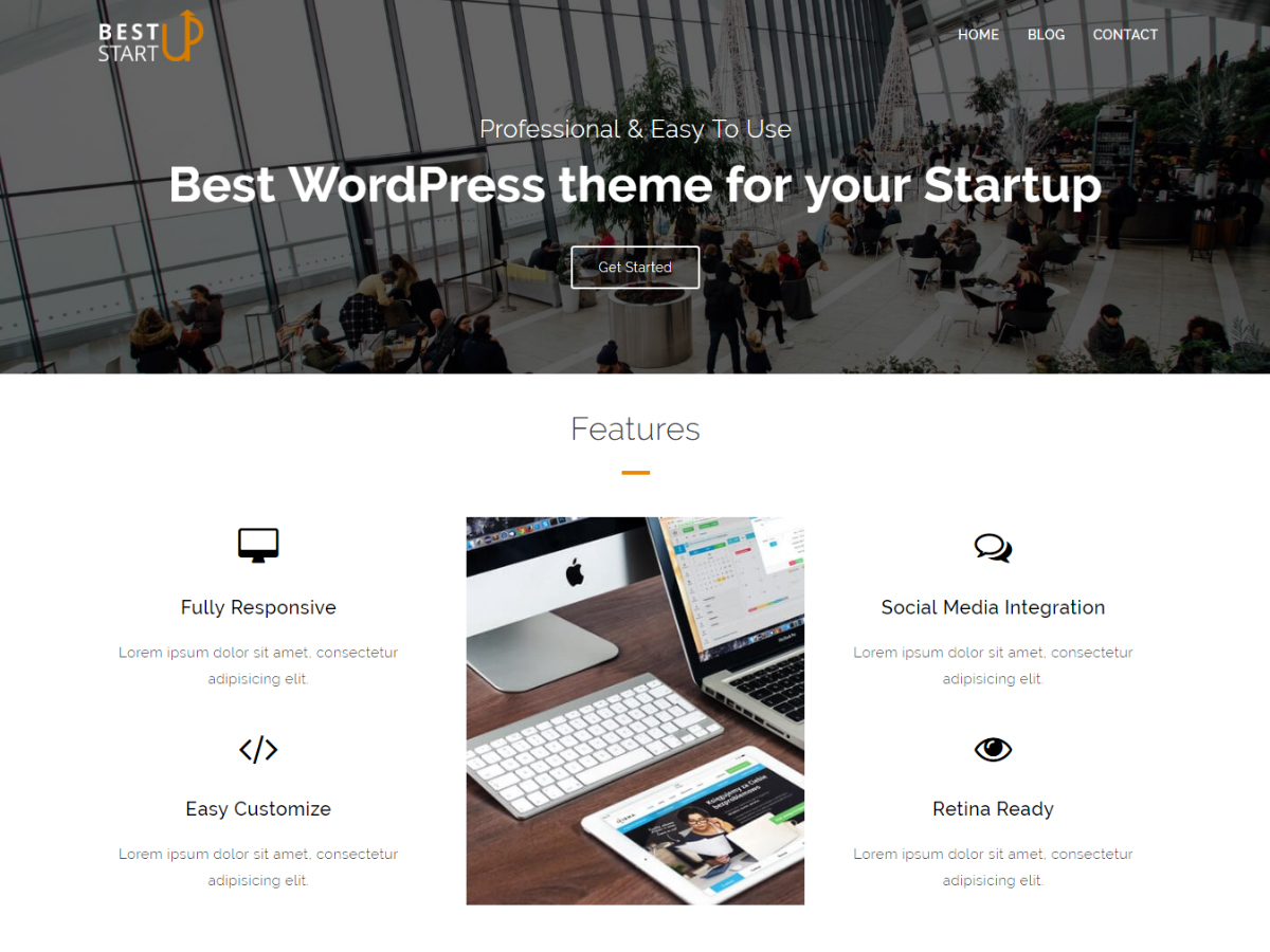 Best Startup Preview Wordpress Theme - Rating, Reviews, Preview, Demo & Download