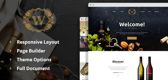 Best Wine Preview Wordpress Theme - Rating, Reviews, Preview, Demo & Download