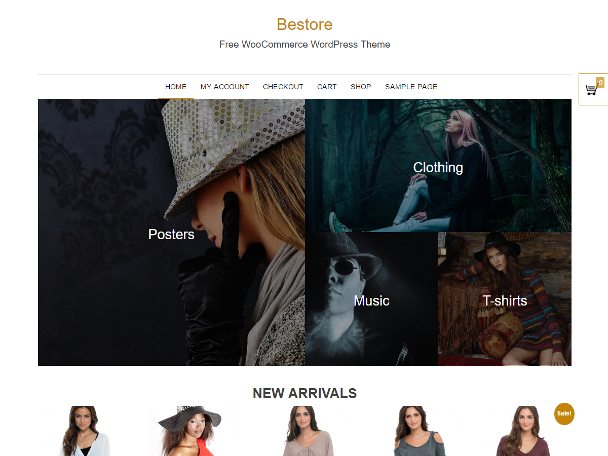 Bestore Preview Wordpress Theme - Rating, Reviews, Preview, Demo & Download