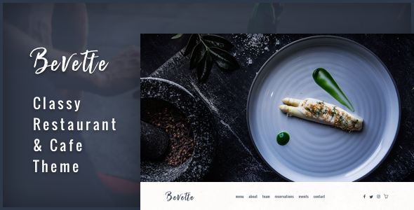 Bevette Preview Wordpress Theme - Rating, Reviews, Preview, Demo & Download