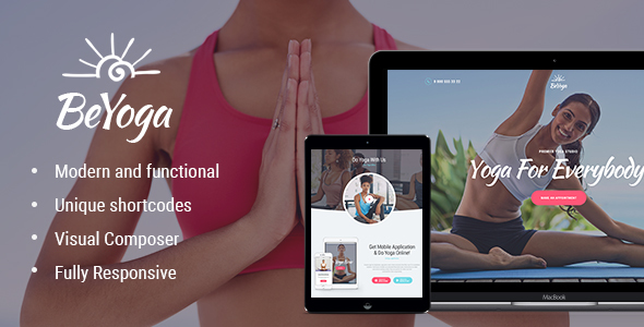 BeYoga Preview Wordpress Theme - Rating, Reviews, Preview, Demo & Download