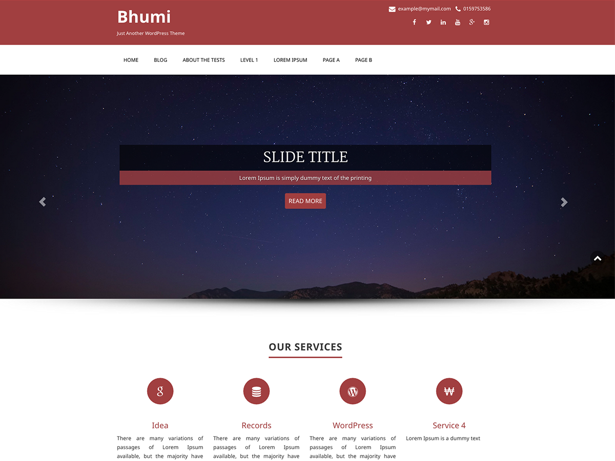 Bhumi Preview Wordpress Theme - Rating, Reviews, Preview, Demo & Download