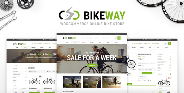 Bikeway Preview Wordpress Theme - Rating, Reviews, Preview, Demo & Download