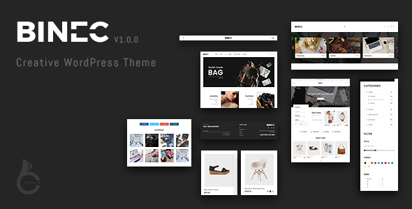 Binec Preview Wordpress Theme - Rating, Reviews, Preview, Demo & Download