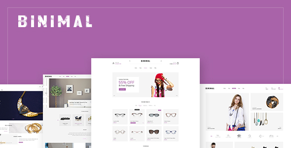 Binimal Preview Wordpress Theme - Rating, Reviews, Preview, Demo & Download