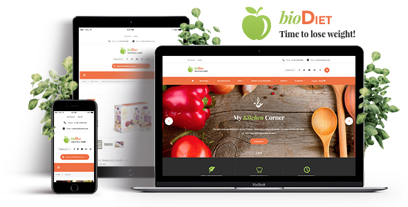 BioDiet Preview Wordpress Theme - Rating, Reviews, Preview, Demo & Download