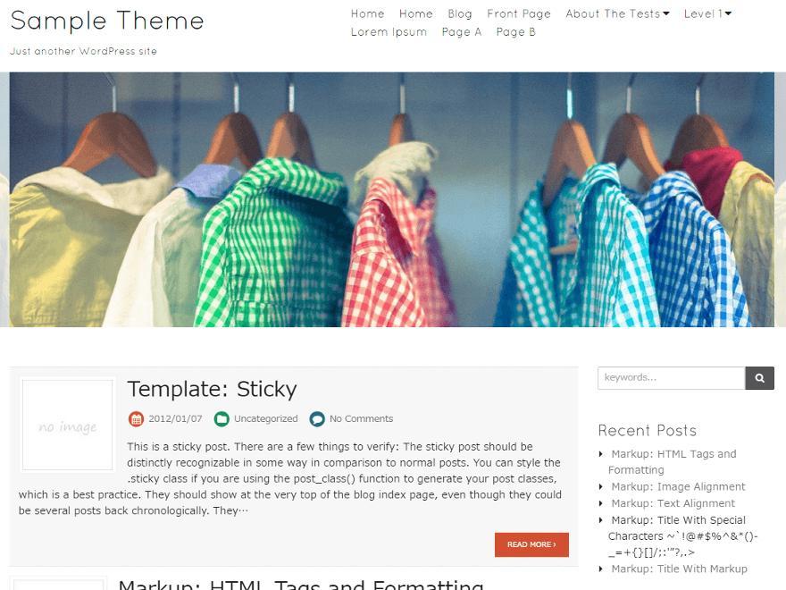 Blanc Preview Wordpress Theme - Rating, Reviews, Preview, Demo & Download