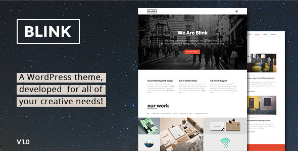 Blink Preview Wordpress Theme - Rating, Reviews, Preview, Demo & Download