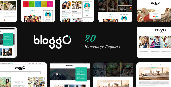Bloggo Preview Wordpress Theme - Rating, Reviews, Preview, Demo & Download