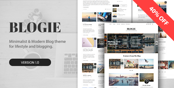 Blogie Preview Wordpress Theme - Rating, Reviews, Preview, Demo & Download