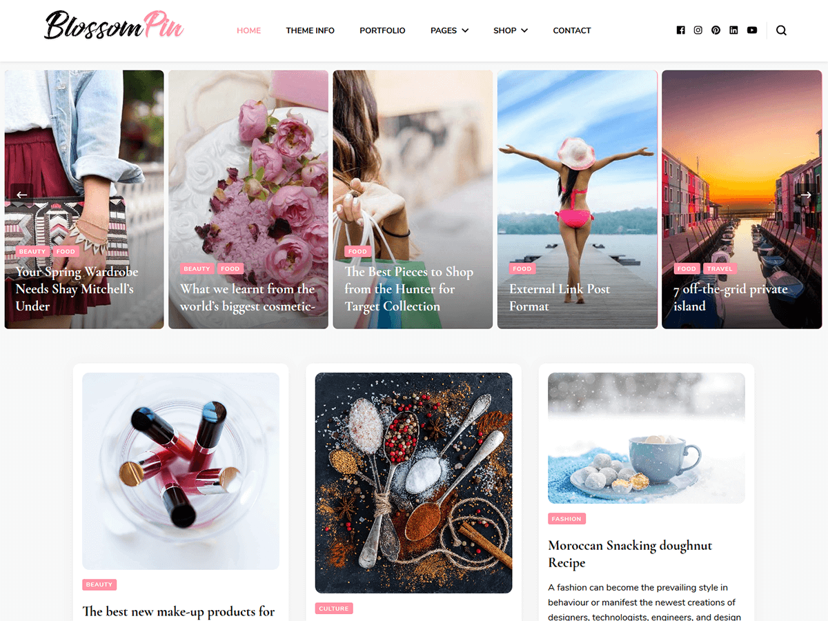 Blossom Pin Preview Wordpress Theme - Rating, Reviews, Preview, Demo & Download