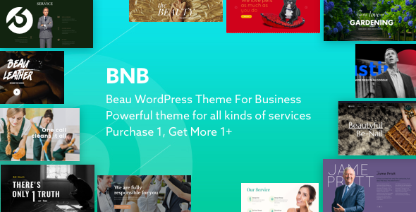 BnB Multi Preview Wordpress Theme - Rating, Reviews, Preview, Demo & Download