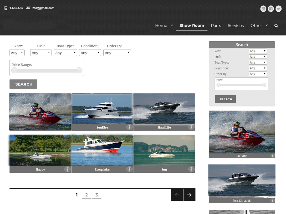 BoatSeller Preview Wordpress Theme - Rating, Reviews, Preview, Demo & Download