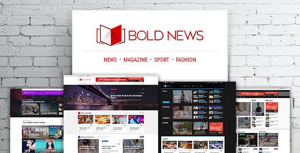 Bold News Preview Wordpress Theme - Rating, Reviews, Preview, Demo & Download