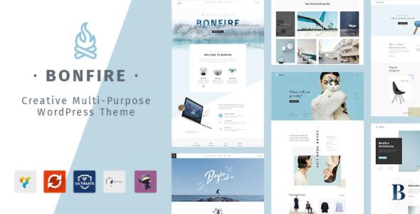 Bonfire Preview Wordpress Theme - Rating, Reviews, Preview, Demo & Download