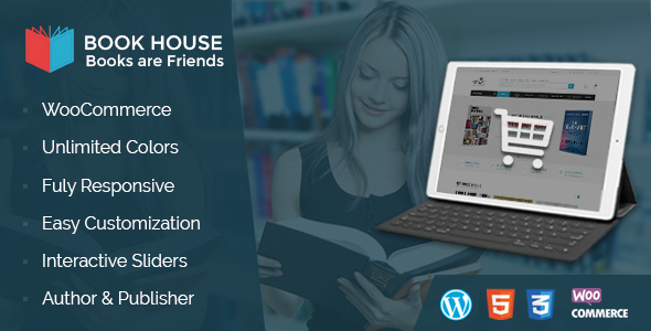 Book House Preview Wordpress Theme - Rating, Reviews, Preview, Demo & Download