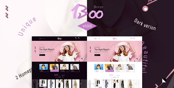 BooShop Preview Wordpress Theme - Rating, Reviews, Preview, Demo & Download